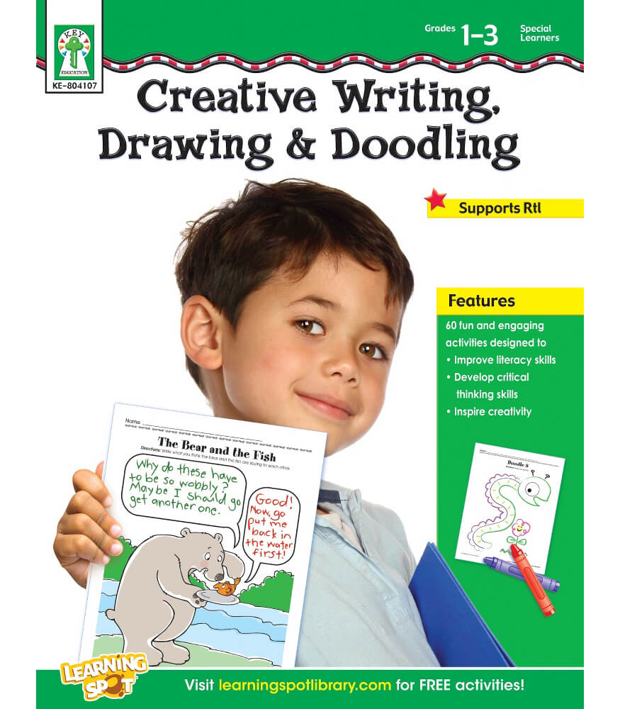 Creative Writing, Drawing, & Doodling Resource Book Product Image