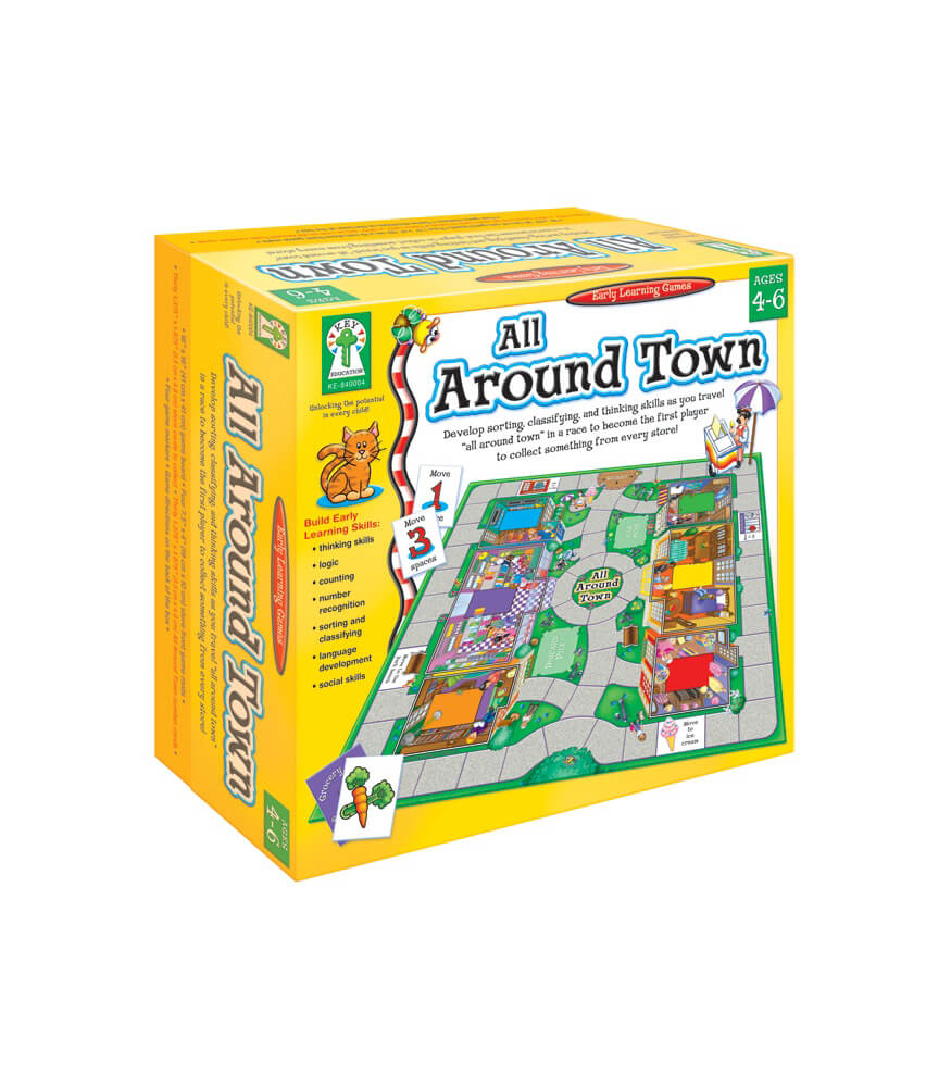 All Around Town Board Game Product Image