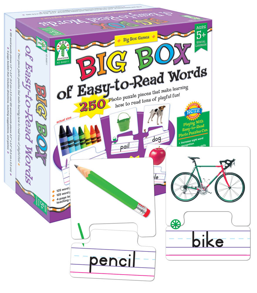 Big Box of Easy-to-Read Words Board Game Product Image
