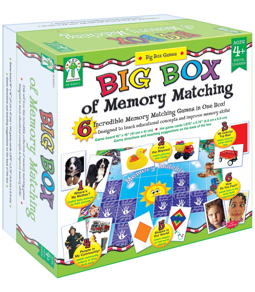 Big Box of Memory Matching Board Game Product Image