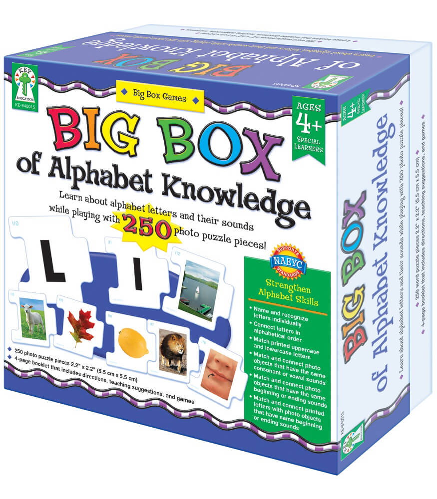 Big Box of Alphabet Knowledge Board Game Product Image