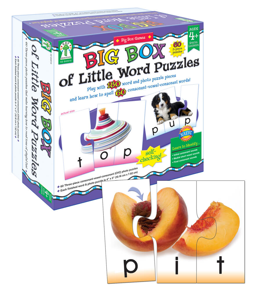 Big Box of Little Word Puzzles Puzzle Product Image