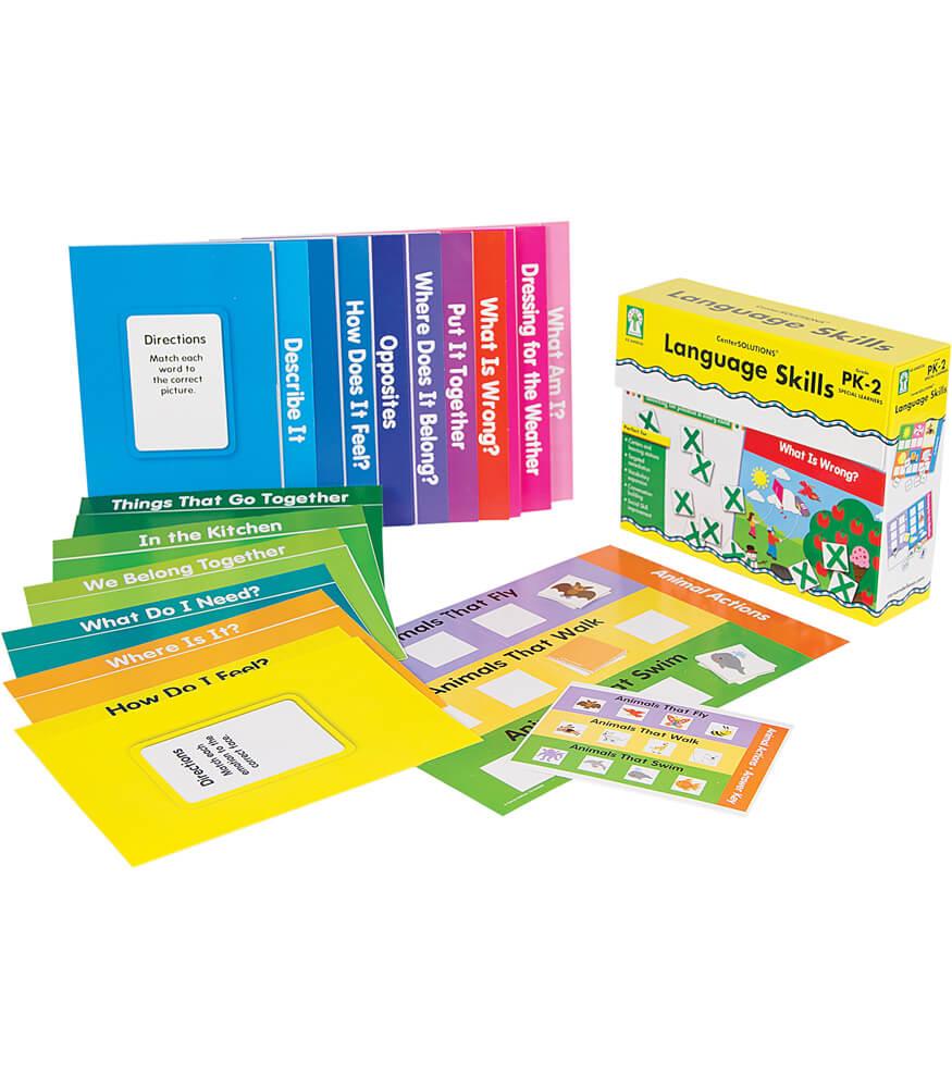 Language Skills File Folder Game Product Image