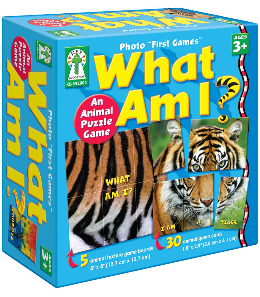 "Photo ""First Games"": What Am I? Board Game"