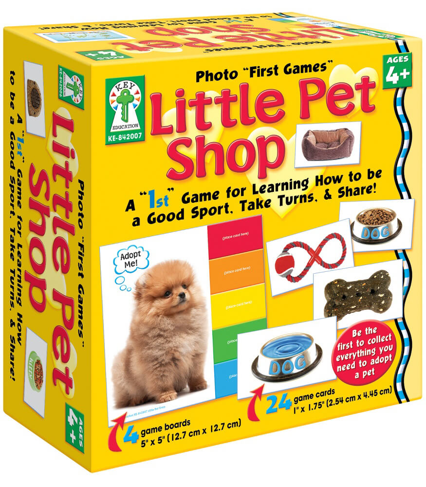 "Photo ""First Games"": Little Pet Shop Board Game Product Image"