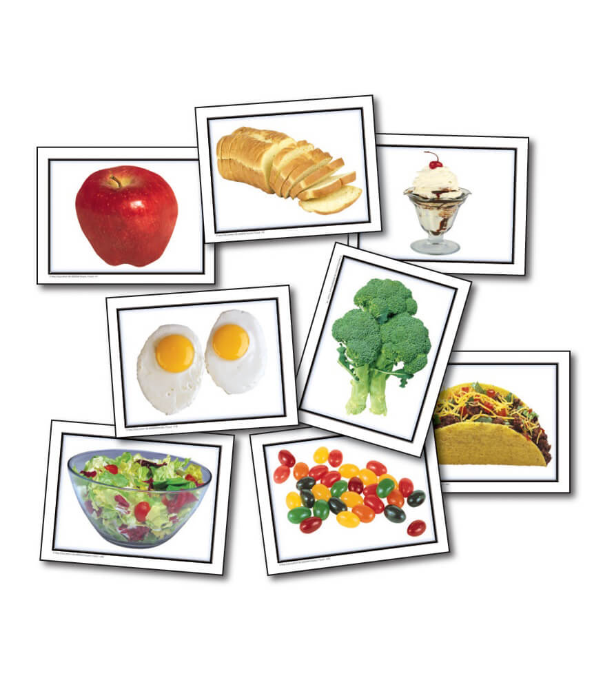 Nouns: Food Learning Cards Product Image