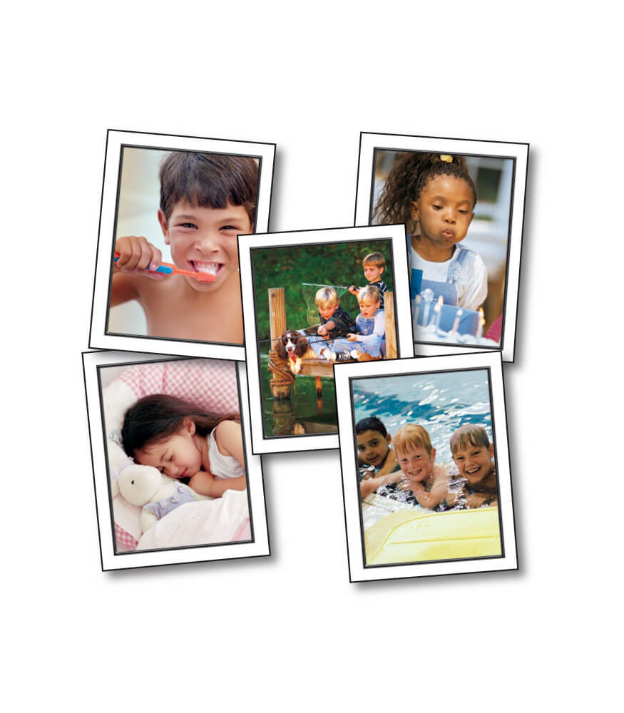Talk About A Child's Day Learning Cards Product Image