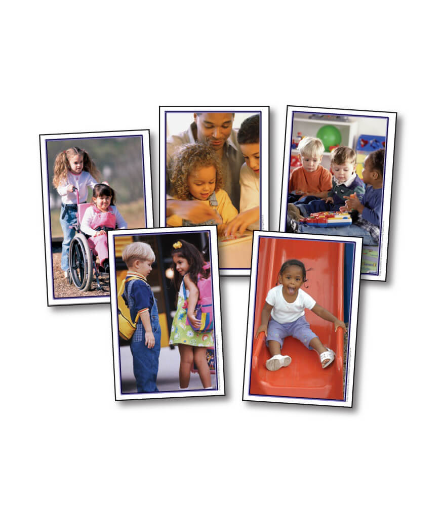 Children Learning Together Learning Cards Product Image