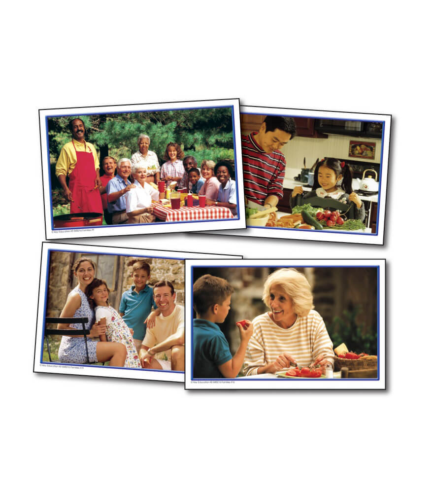 Families Learning Cards Product Image