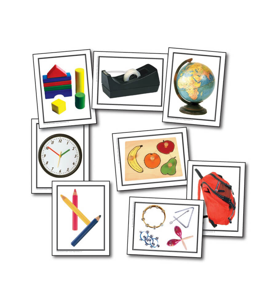 Nouns: Things at School Learning Cards Product Image