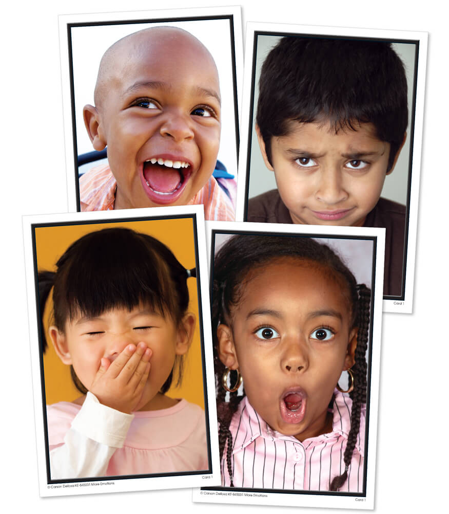 More Emotions Learning Cards Product Image