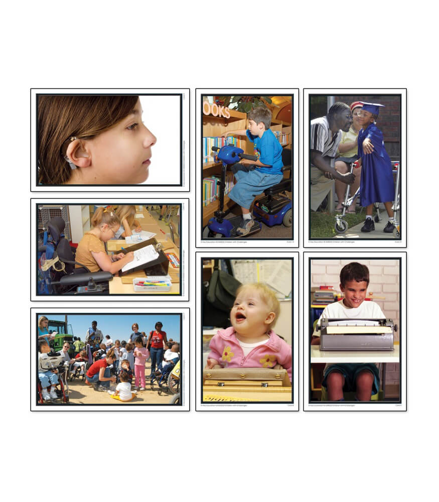 Children with Challenges Learning Cards Product Image