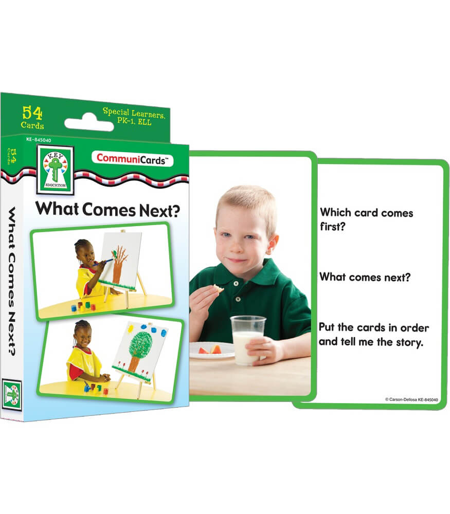 What Comes Next? Learning Cards Product Image