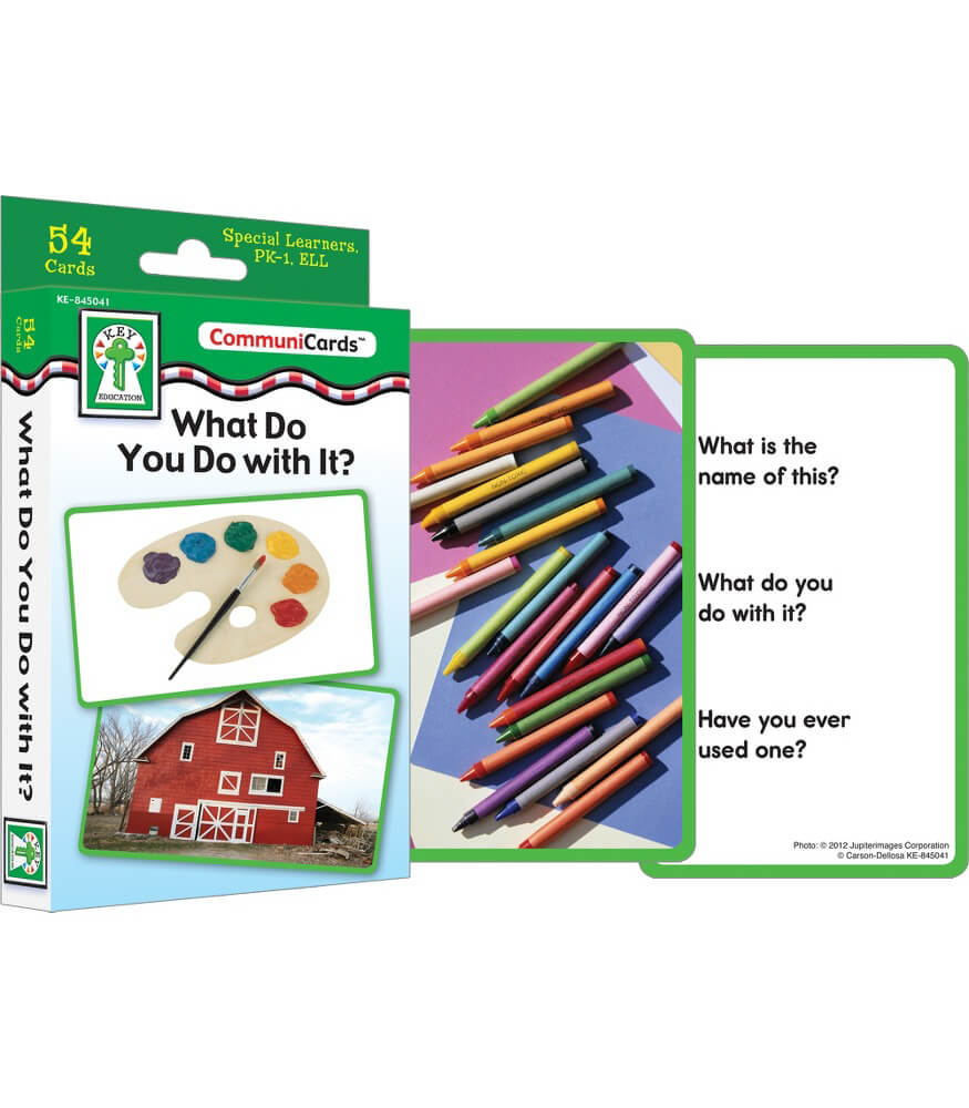 What Do You Do with It? Learning Cards Product Image