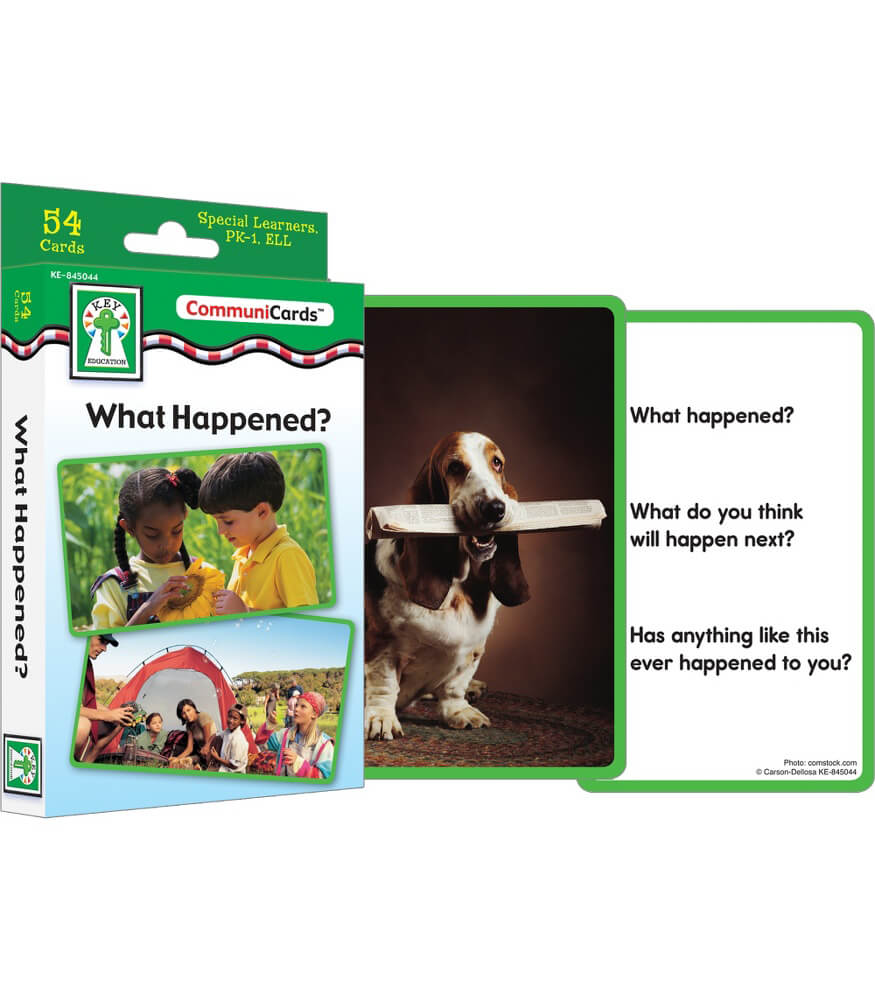 What Happened? Learning Cards Product Image