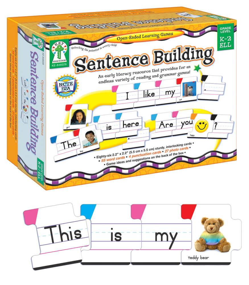 Interactive Sentence Building Games