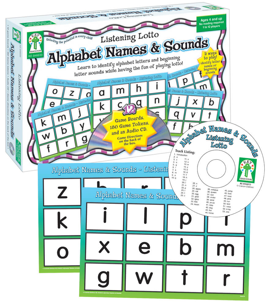 Alphabet Names & Sounds Board Game Product Image