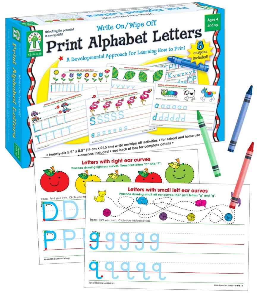 Print Alphabet Letters Manipulative Product Image