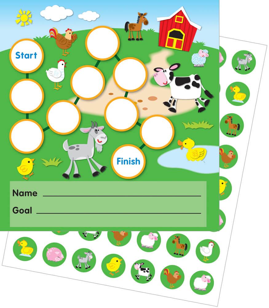 Farm Mini Incentive Charts Product Image