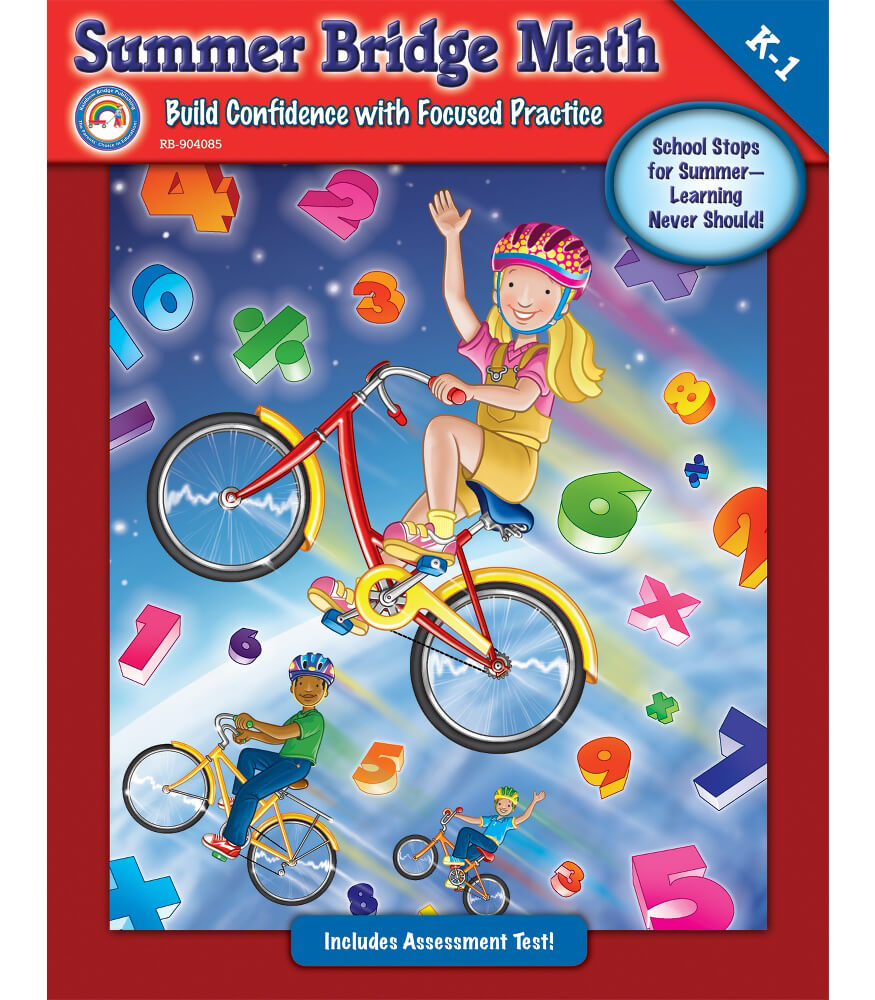 Summer Bridge Math Workbook Product Image