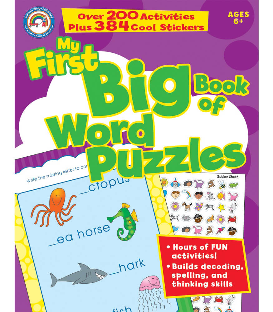 My First Big Book of Word Puzzles Activity Book Product Image