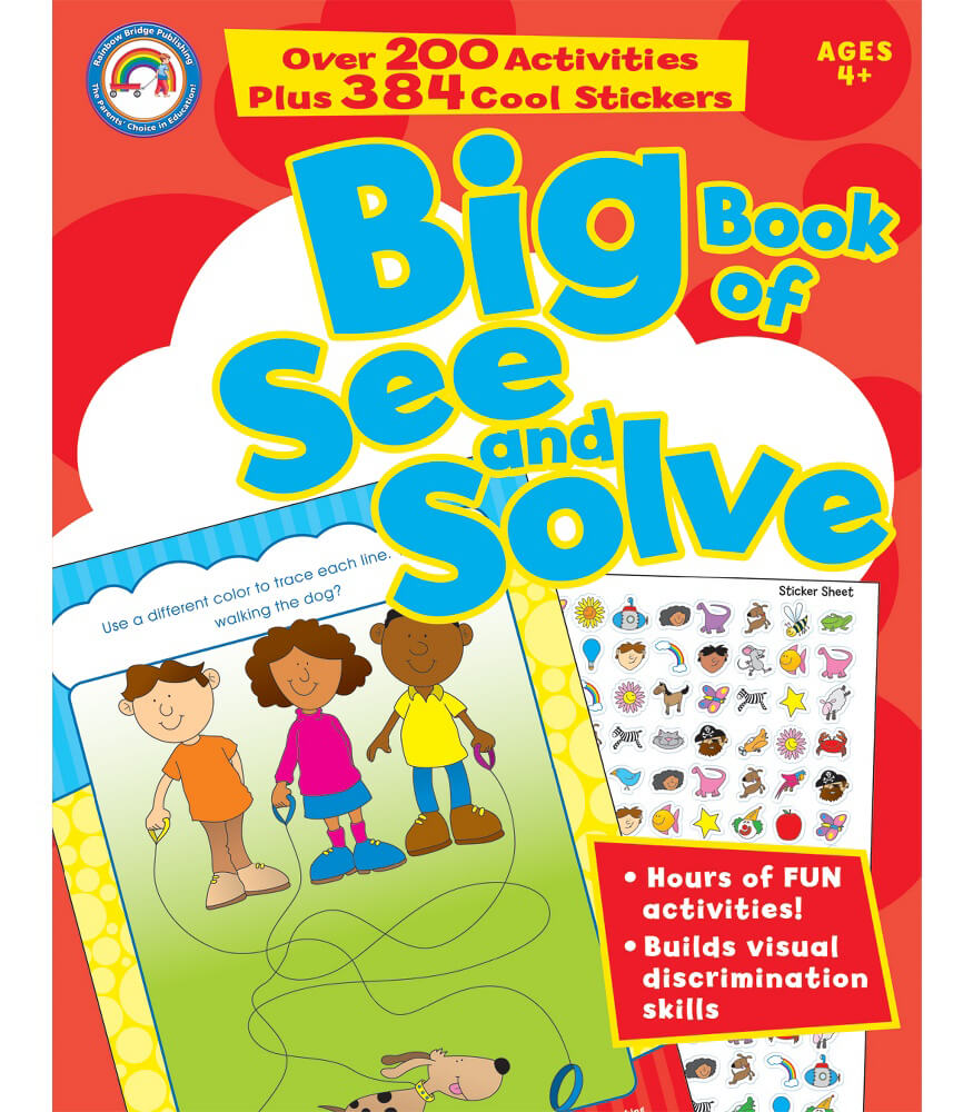 Big Book of See and Solve Activity Book Product Image