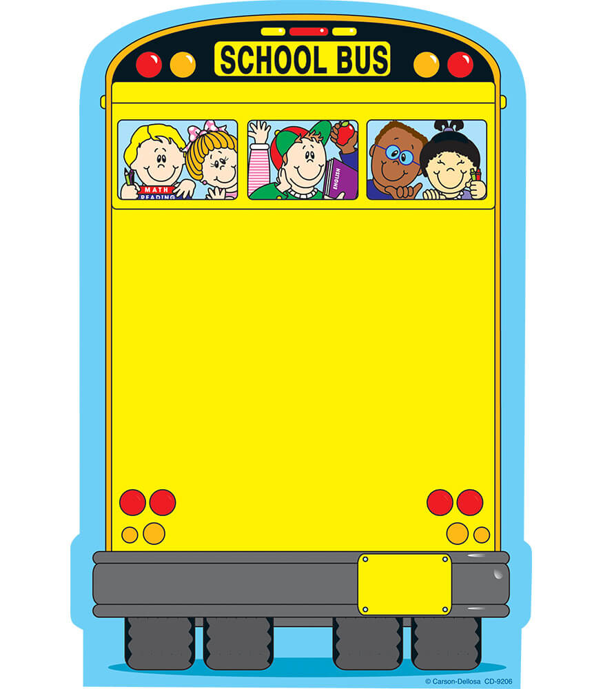 School Bus Notepad Product Image