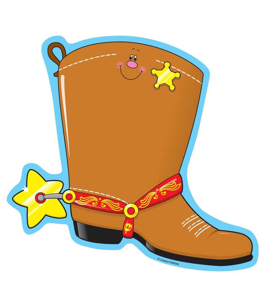 Cowboy Boot Notepad Product Image
