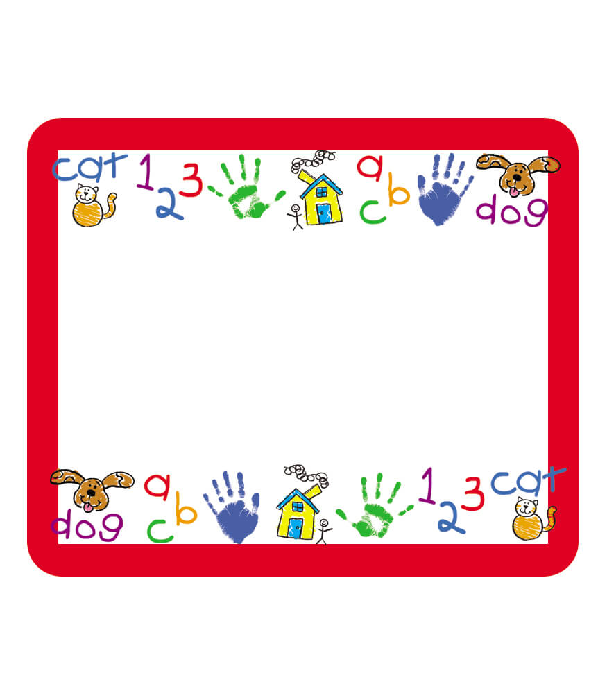 Kid-Drawn Name Tags Product Image