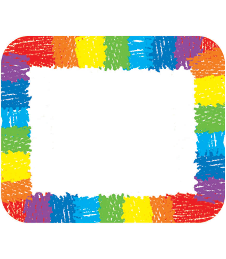 Rainbow Name Tags Product Image
