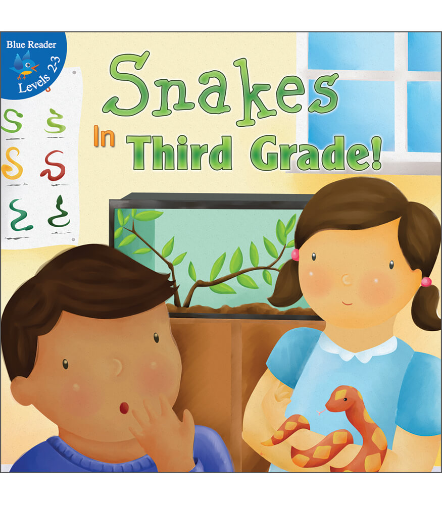 Snakes In Third Grade! Reader Product Image
