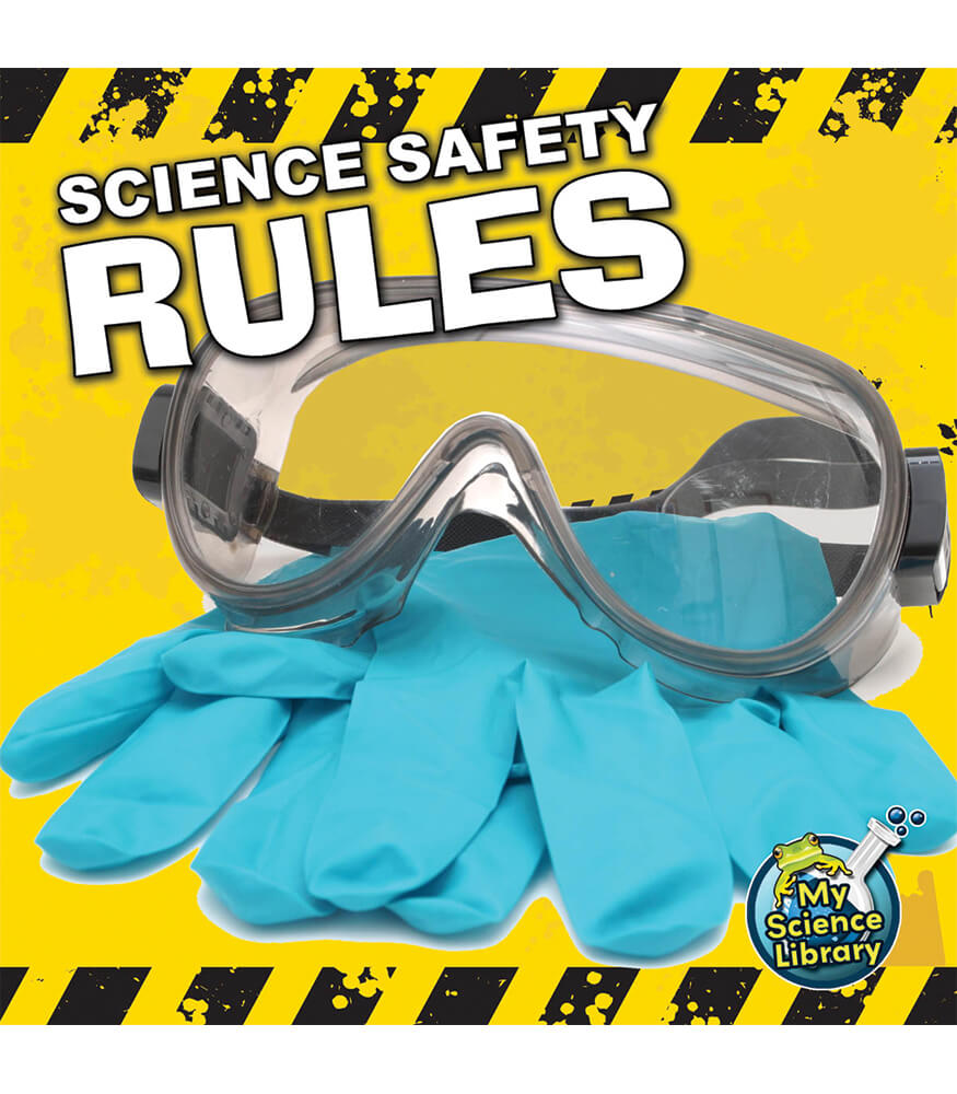 Science Safety Rules Reader Product Image