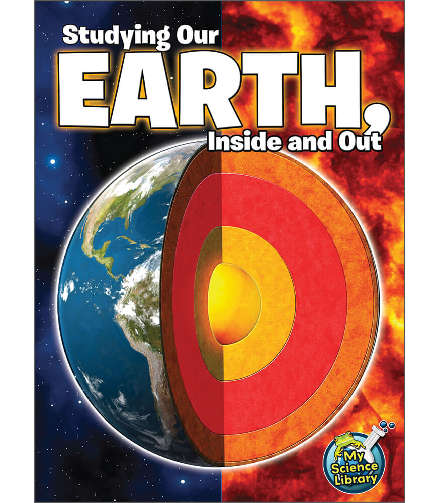 Studying Our Earth, Inside and Out Reader Product Image