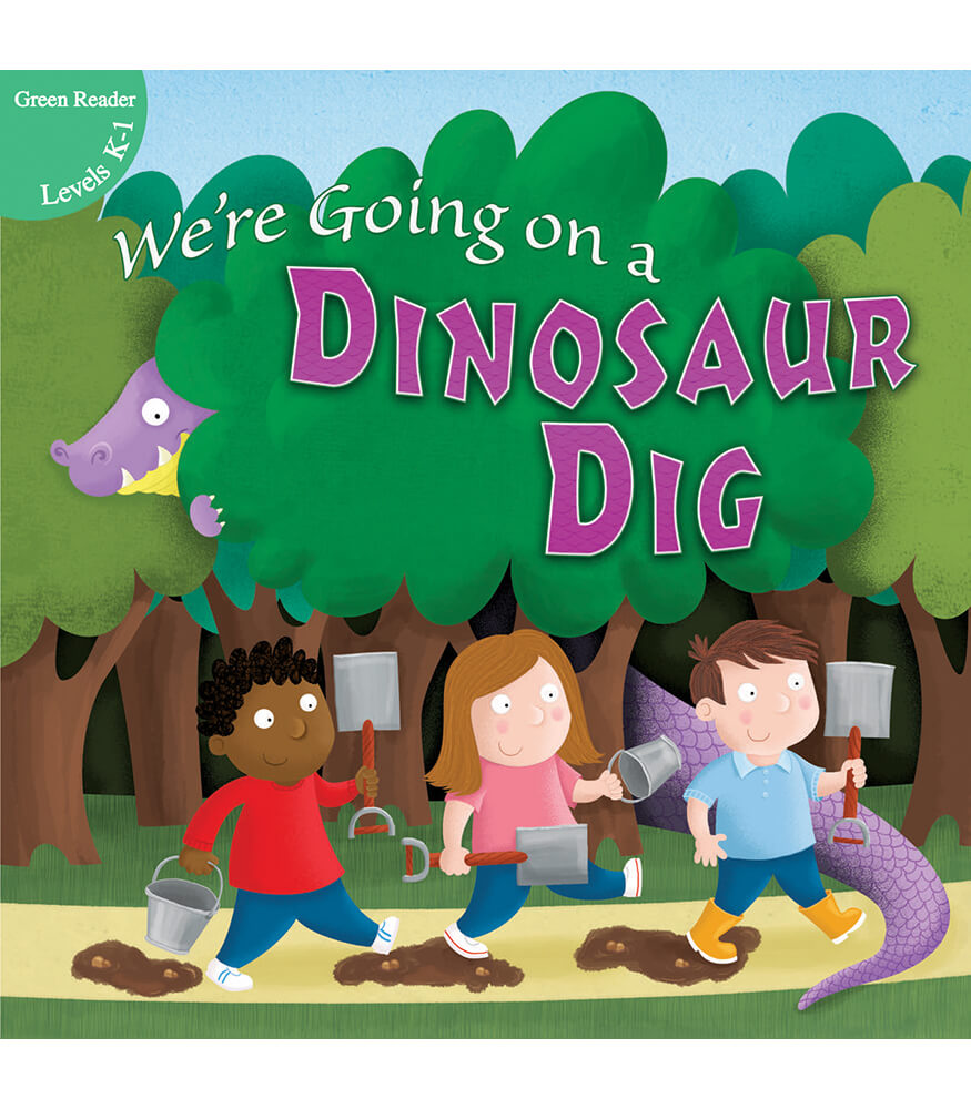 We're Going on a Dinosaur Dig Reader Product Image