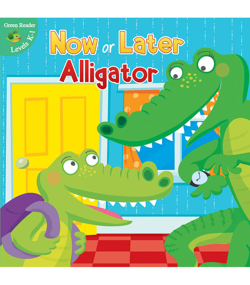 Now or Later Alligator Reader Product Image