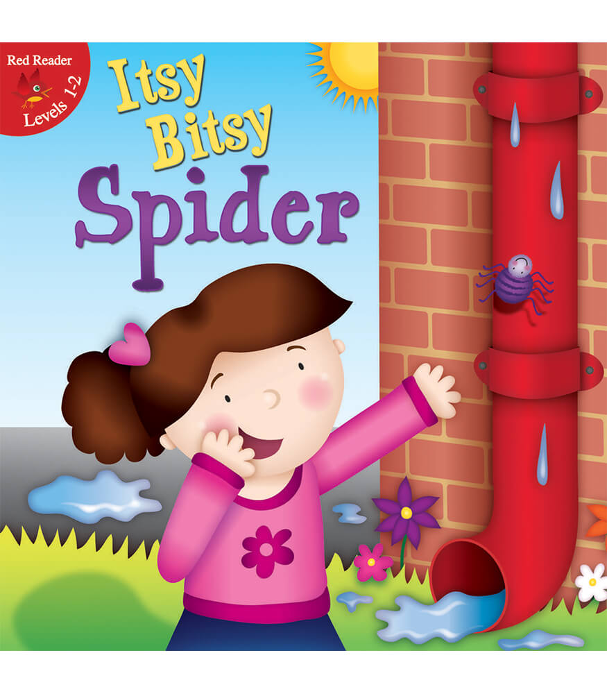 Itsy Bitsy Spider Reader Product Image