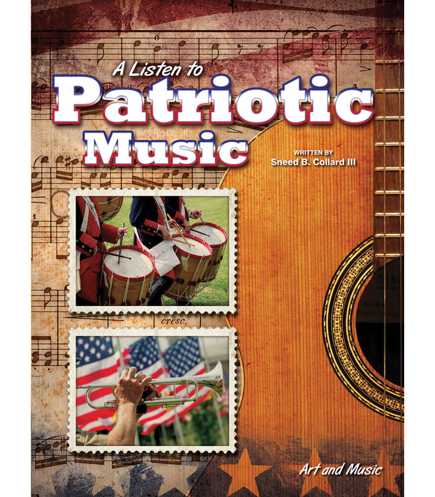 A Listen to Patriotic Music Reader Product Image