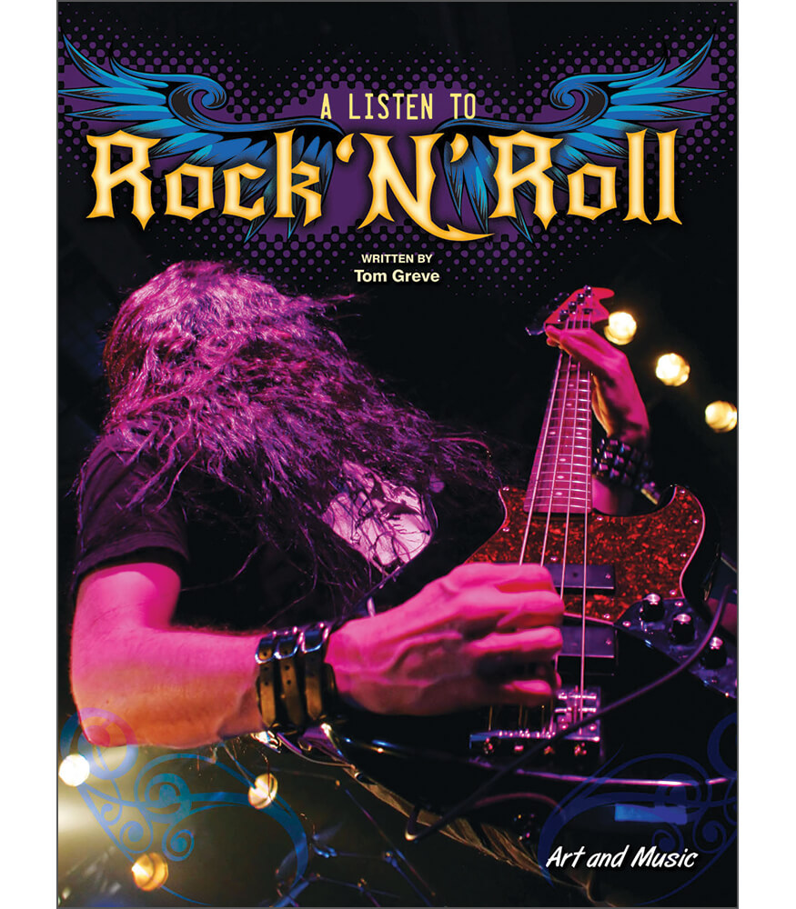 A Listen to Rock 'N' Roll Reader Product Image