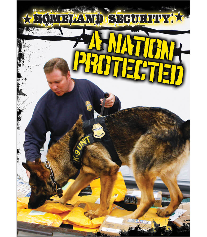 Homeland Security: A Nation Protected Reader Product Image
