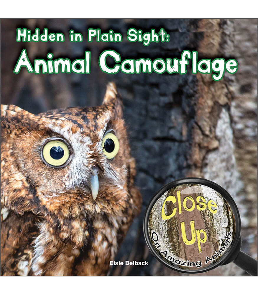 Hidden in Plain Sight: Animal Camouflage Reader Product Image