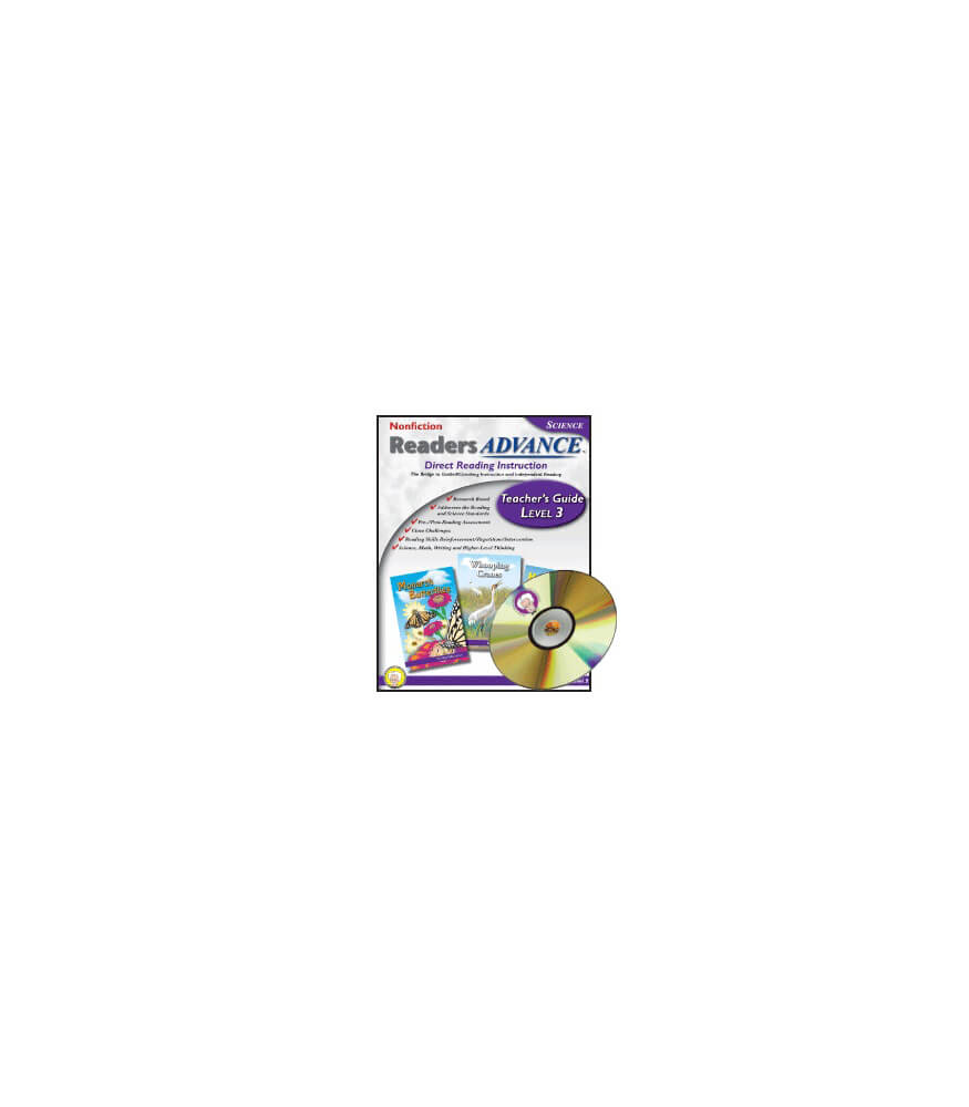 Readers Advance™ Teacher's Guide Level 3 with CD-ROM Book with CD Product Image