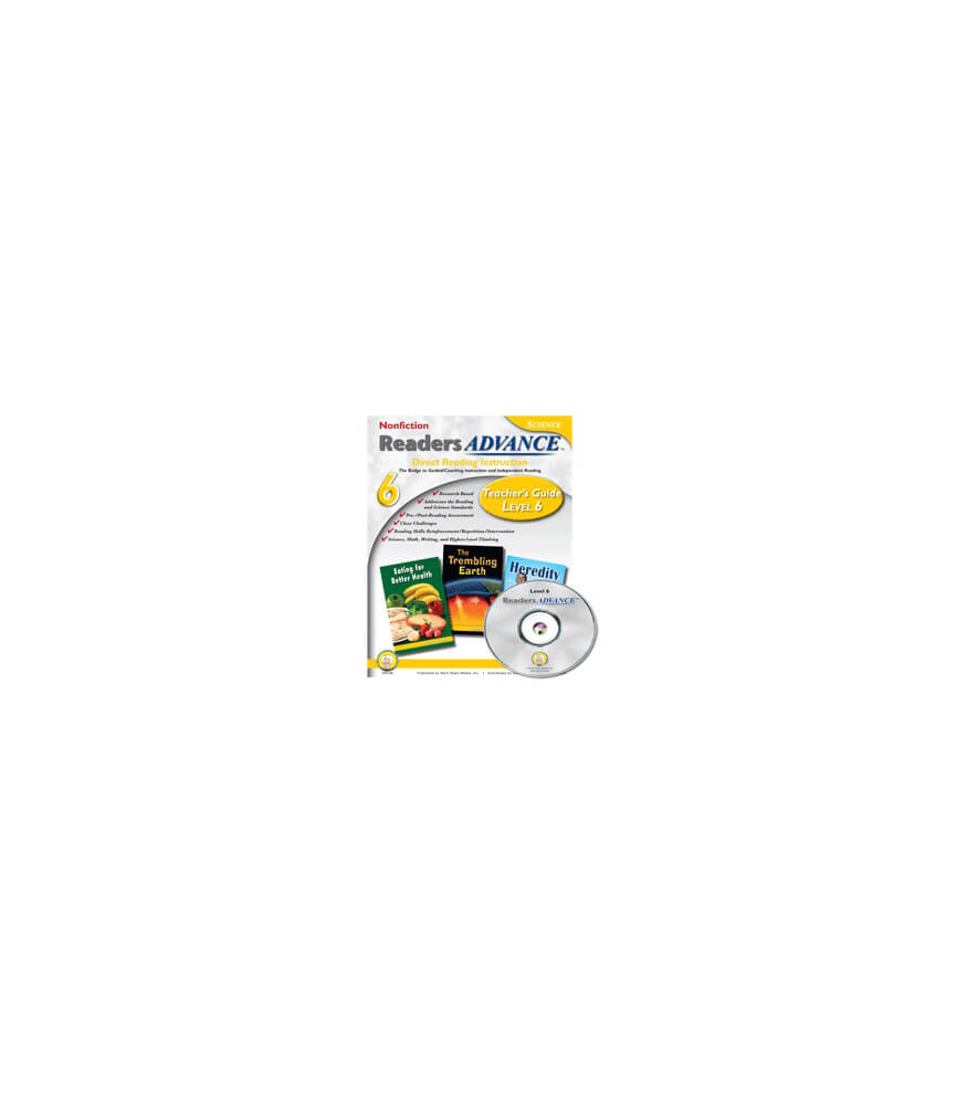 Readers Advance™ Teacher's Guide Level 6 with CD-ROM Book with CD Product Image
