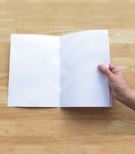 Rectangle Blank Book for Young Authors (12-pack) Resource Book Product Image