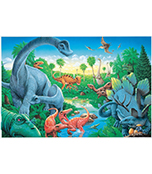 Dinosaurs Floor Puzzle Product Image