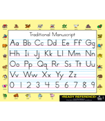Handwriting Traditional Manuscript and Cursive Ready Reference Learning Cards Product Image