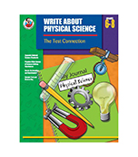Write About Physical Science Resource Book Product Image