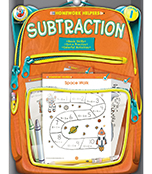 Subtraction Workbook Product Image