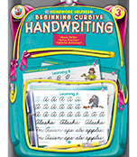 Beginning Cursive Handwriting Workbook Product Image