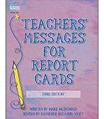 Teachers' Messages for Report Cards Resource Book Product Image