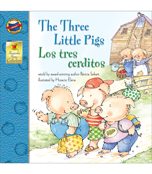 The Three Little Pigs Bilingual Storybook Product Image